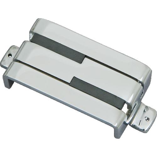 Pickup - Lace Alumitone Humbucker, Split Coil, Chrome image 1