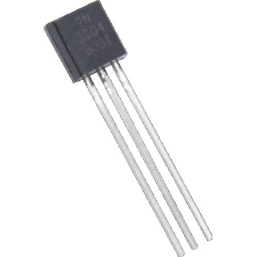 Transistor - 2N3904, TO-92, NPN image 1