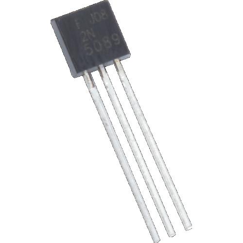 Transistor - 2N5089, TO-92 case, NPN image 1