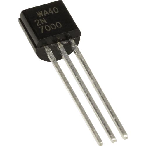 Transistor - 2N7000, Mosfet, Small Signal image 1