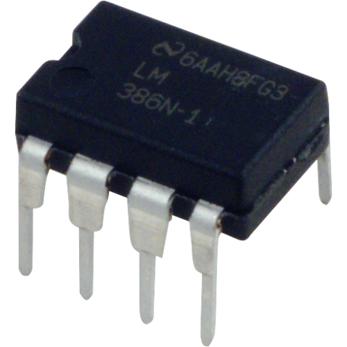 Audio Power Amplifier - LM386N-1, Low Voltage image 1