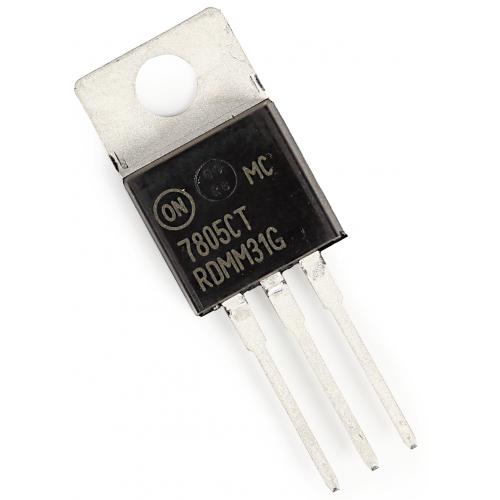 Regulator - 7805, 5 Volt, 1A, Linear Voltage Regulator image 1
