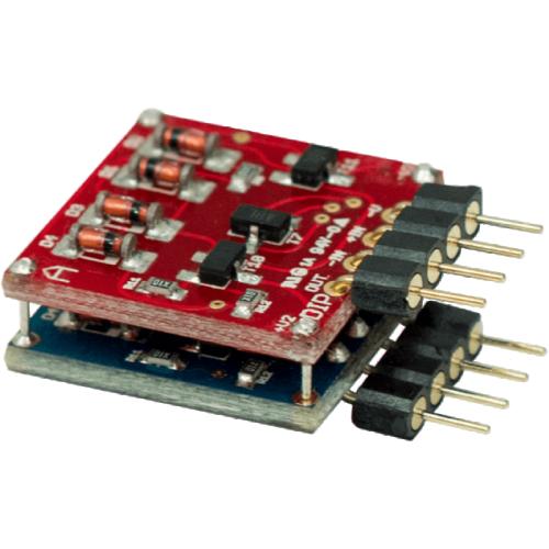Op-Amp - Orange, Dual Discrete, Low-Noise, 8-Pin DIP image 1