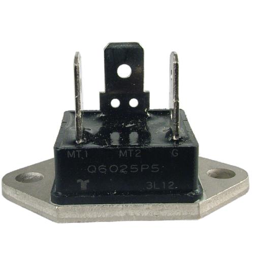 Triac - Q6025P5 - Alternistor, 400V, 25A, Fastpack TO-3 Base image 1