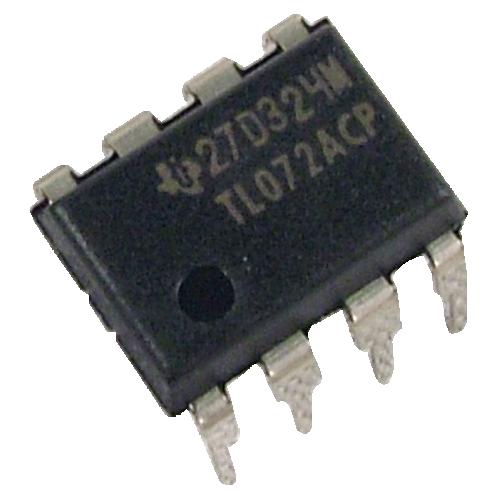 Integrated Circuit - TL072, Dual Op-Amp image 1