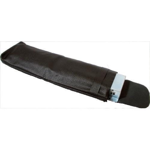 "Reverb Tank Bag - 17"" Long, Handmade Black Tolex image 1"