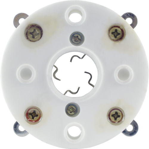 Socket - 4 Pin, Ceramic, Bayonet, China image 3