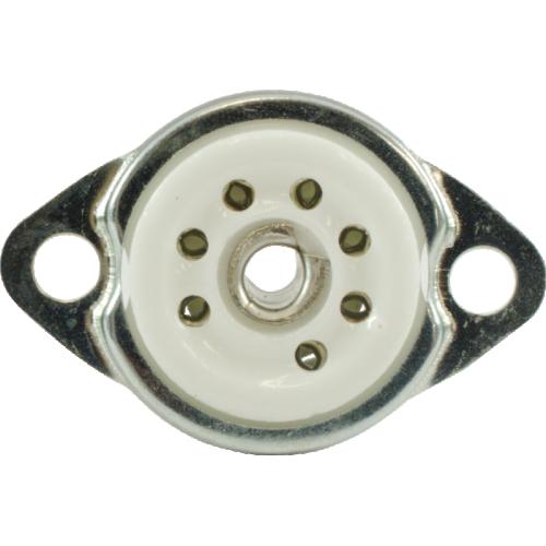 Socket - 7 Pin, Miniature, Ceramic with Mounting Ring image 2