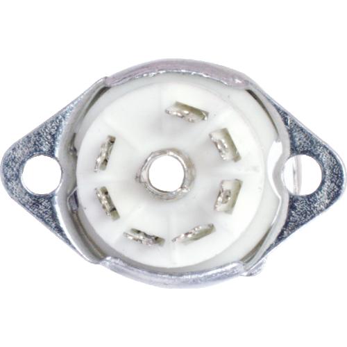 Socket - 7 Pin, Miniature, Ceramic, with Shield Base image 2