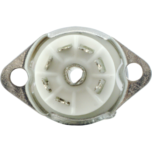 Socket - 7 Pin, Miniature, Ceramic, with Aluminum Shield image 2