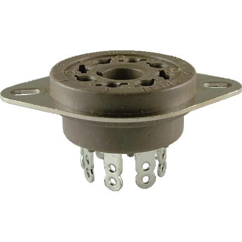 Socket - Belton, Micalex, 8 pin octal, MIP image 1