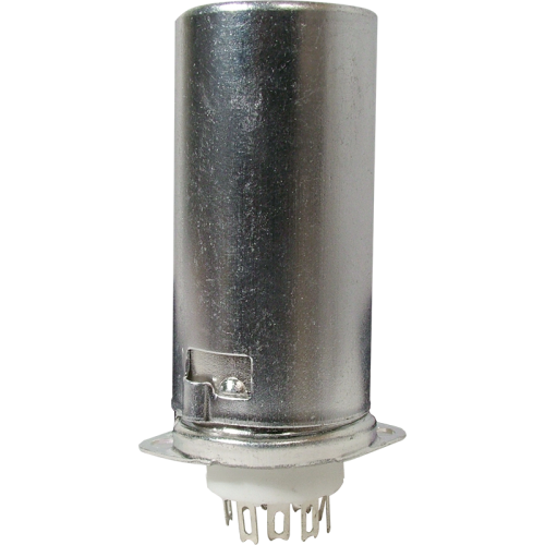 Socket - 9 Pin, Ceramic Base with Aluminum Shield image 1