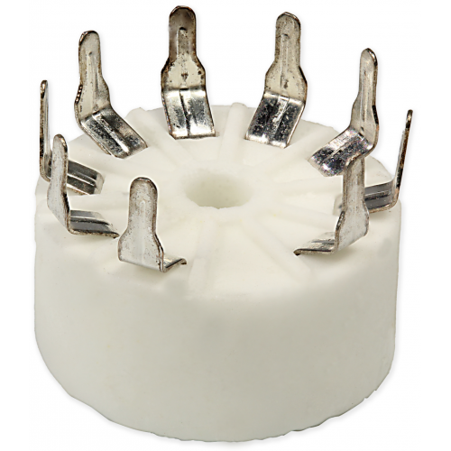 Socket - 9 Pin, Standoff Ceramic PC Mount image 4