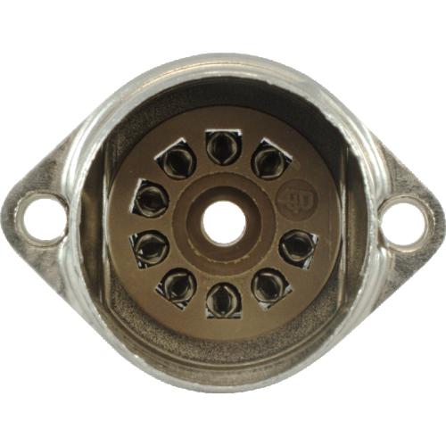 Socket - Belton, 9 pin, crimped with shield base, Micalex image 3