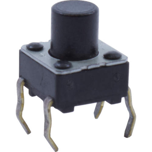 Switch - Korg, Momentary Tactile Switch, Medium Length Actuator image 1