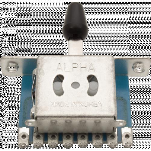 Switch - Pickup Selector, Strat, 5-Way, Black image 2