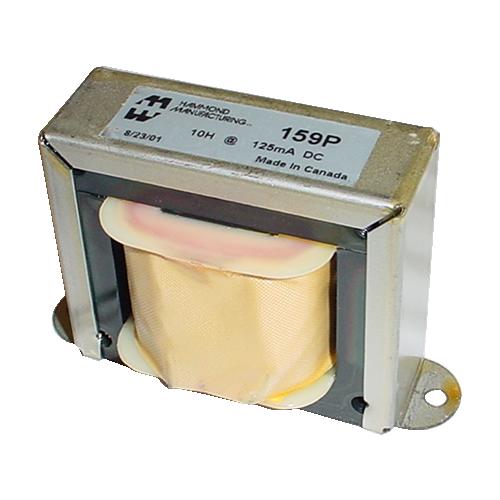 Filter Choke - Hammond, Open Bracket, 10 H, 125 mA image 1