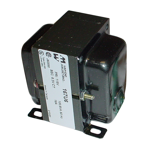 Transformer - Hammond, Filament, 6.3 VCT, 16 A image 1