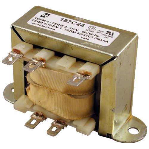 Transformer - Hammond, Low Voltage, Single Primary, 120VCT image 1