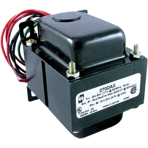Transformer - Hammond, Power, 260-0-260 V, 104 mA image 1