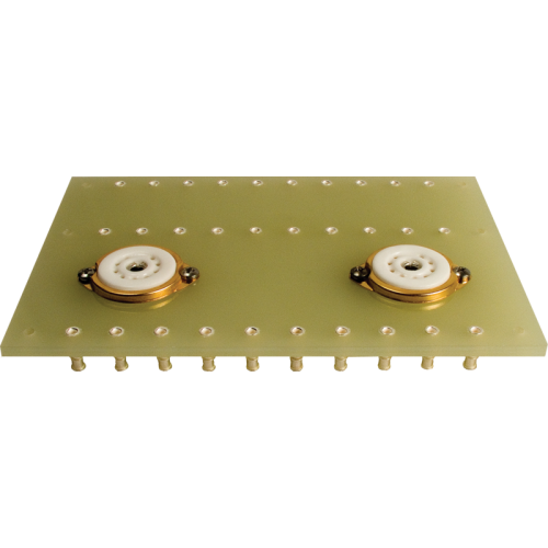 Terminal Board - 2 x 9 Pin Socket, 3 rows of lugs image 1