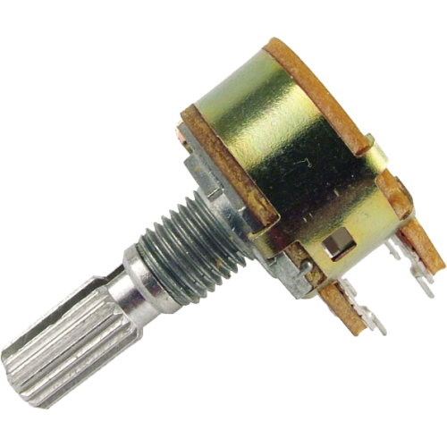 Potentiometer - Marshall, 10K, Linear, Dual, 16mm image 1