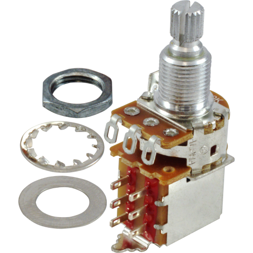 Potentiometer - Fender®, 250kΩ, Knurled Shaft, Push-Pull image 1