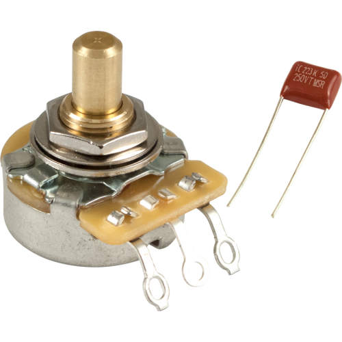 Potentiometer - Fender, 250K, Solid Shaft, No Load image 1