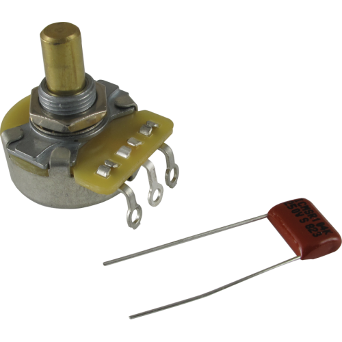 Potentiometer - Fender®, 250K, Solid Shaft image 1