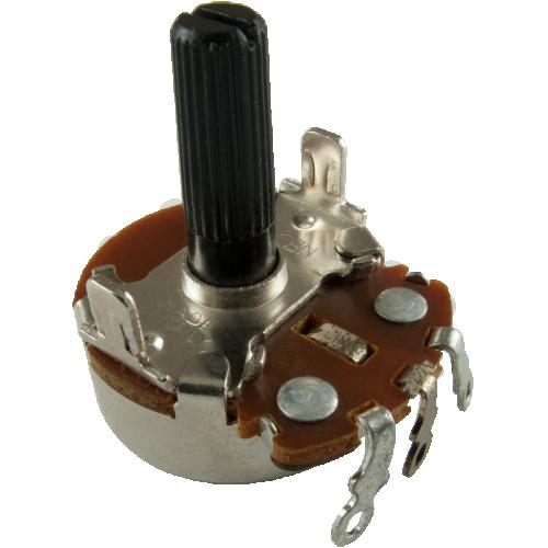 Potentiometer - Neohm, 500K, Linear, Twist Tab Mount image 1