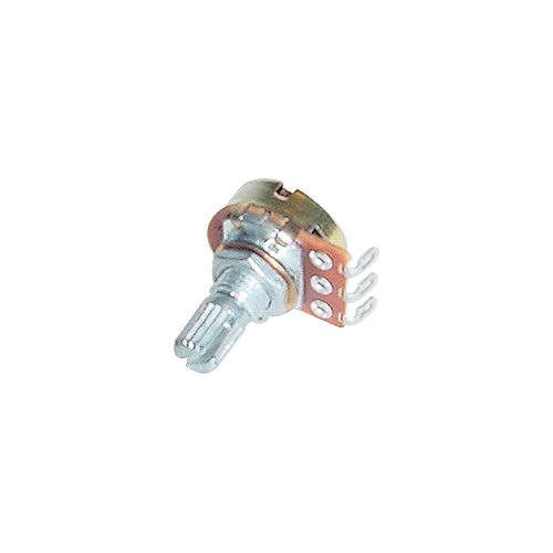 Potentiometer - Alpha, 300K, Linear, Knurled Shaft, 16mm image 1