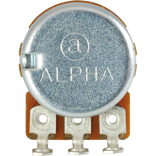Potentiometer - Alpha, 300K, Linear, Knurled Shaft, 16mm image 3