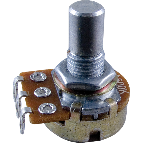 Potentiometer - Alpha, Audio, Solid Shaft, 16mm image 1