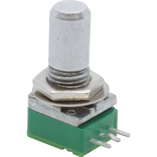 Potentiometer - Alpha, Reverse Audio, 9mm, Right Angle, 25KΩ image 1