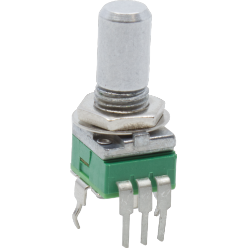 Potentiometer - Alpha, Reverse Audio, 9mm, Vertical, 50KΩ image 1