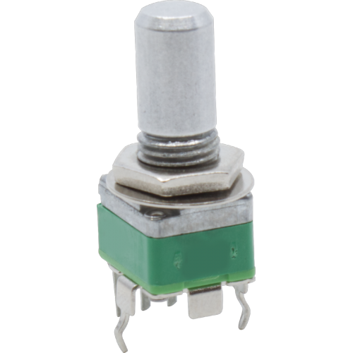 Potentiometer - Alpha, Linear, 9mm, Vertical, Center Notch image 2