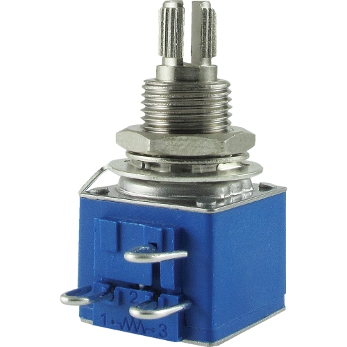 "Potentiometer - Bourns, Audio, Knurled Shaft, 3/8"" Bushing image 1"