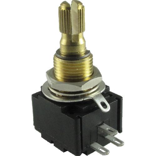 Potentiometer - Bourns, 500K Linear Taper, Knurled Split Shaft, Premium image 1