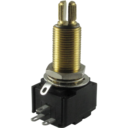 Potentiometer - Bourns, Linear, Knurled, Conductive Polymer image 1