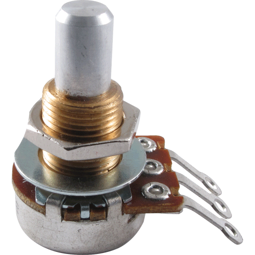 Potentiometer - Bourns, Audio, Solid Shaft, Mini image 1