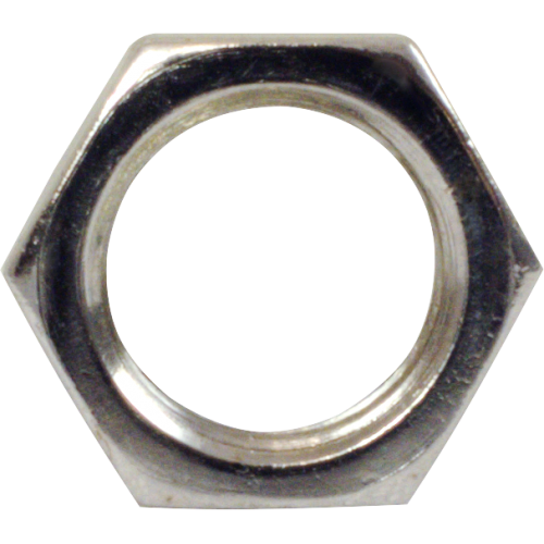 Nut - CTS, 3/8-32, Nickel, for 450 Series Potentiometers image 1
