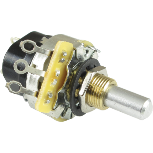 Potentiometer - CTS, 10K Audio, Push-Pull, Solder Lug image 1