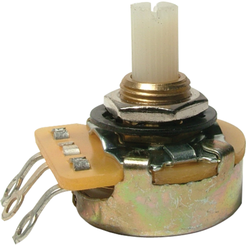 Potentiometer - CTS, Audio, Splined Nylon Shaft image 1