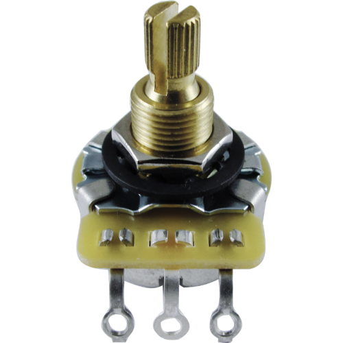 "Potentiometer - CTS, Audio, Knurled Shaft, 3/8"" Bushing image 1"