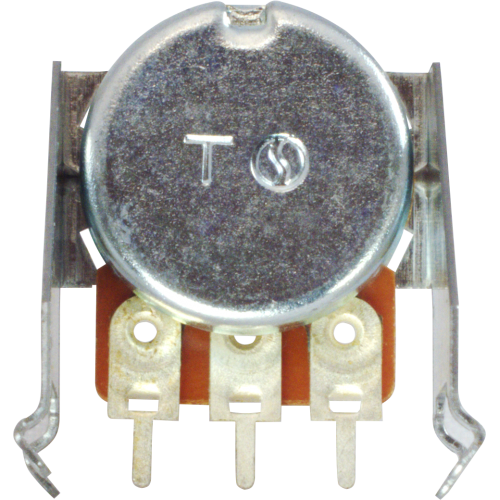 Potentiometer - Peavey, 10kΩ, Reverse Audio, PC Mount image 2