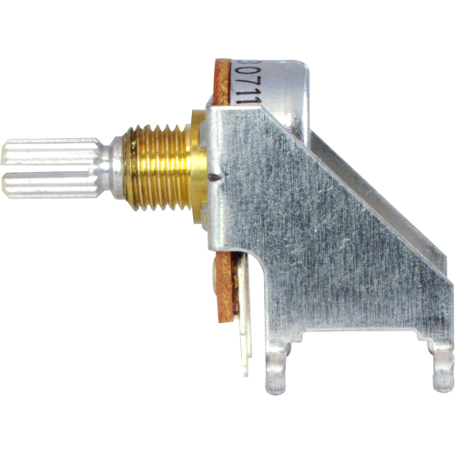 Potentiometer - Peavey, 10kΩ, Reverse Audio, PC Mount image 3