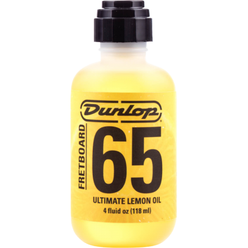 Fretboard Cleaner - Dunlop, Formula 65 Lemon Oil image 1