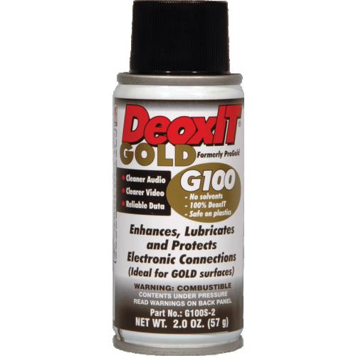 DeoxIT® Gold - Caig, G100 Spray image 1