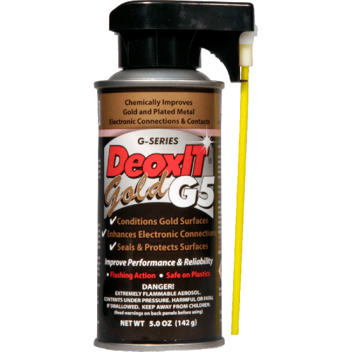 DeoxIT® Gold G5 - Caig, spray image 1