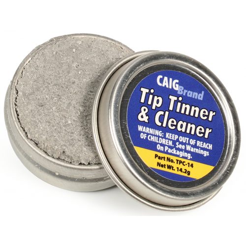 Tip Tinner - Caig, DeoxIT®, for soldering irons image 1